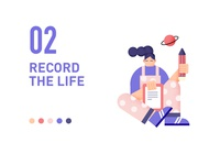 record the life