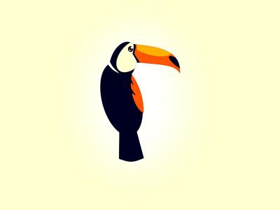 Toucan adobe illustrator design logo a day logo design graphicdesgn art logo logodesign vector illustration gimp logodesigner inkscape graphic design logo graphic designers graphic designer graphic  design