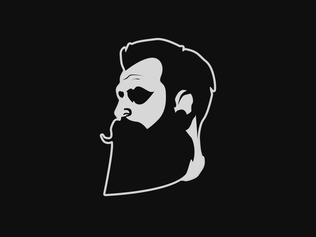 Beard man best designer creative designer creative design adobe illustrator logo design beard logo barber logo logodesign logos logo logodesigner vector illustration gimp design inkscape graphicdesgn graphic  design