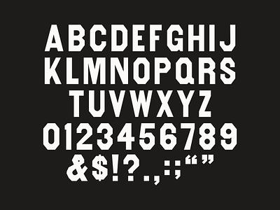 Folsom Bold wood type revival letterpress wood type typography