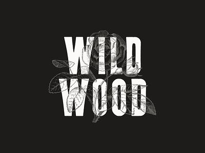 Wildwood typography typeface type font letterpress wood type
