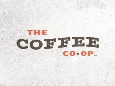 THE COFFEE CO-OP logo identity coffee matchbook