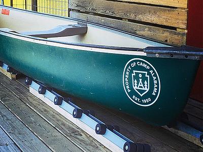 Canoe canoe logo camp