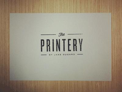 Theprinterystamp