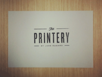 The Printery Stamp