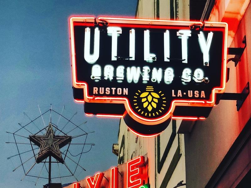 Neon sign branding logo signage neon
