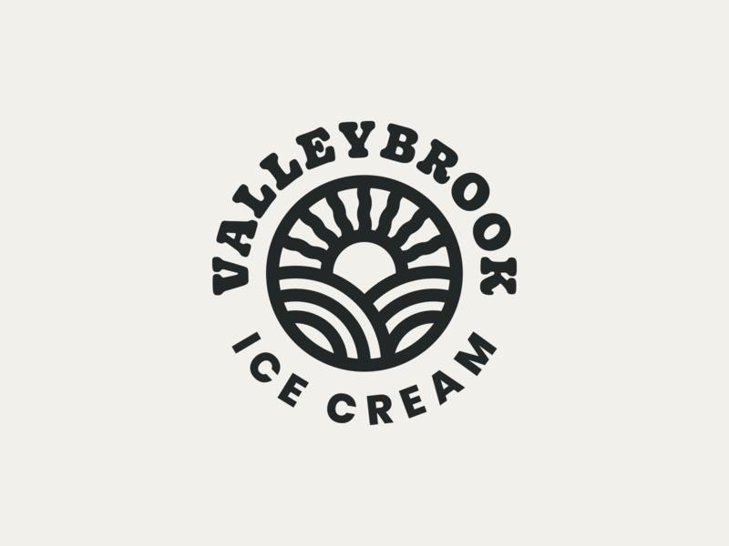 ice cream 01 branding type identity typography logo
