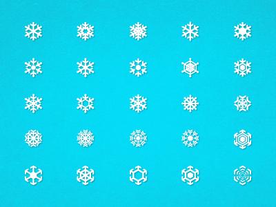 Free Snowflakes snowflakes blue texture white icons free
