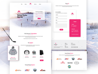 National Hockey Mom Day - Web Design
