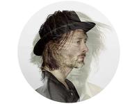 Thom Yorke Double Exposure Profile Image
