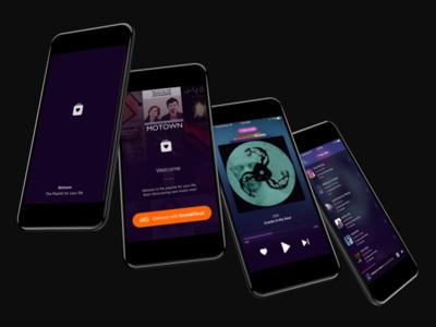 Motown Music for IOS soundcloud ui mobile music ios