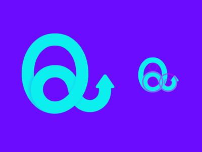 Quali App Logo fintech finance quali app quality arrow queen q logo app icon