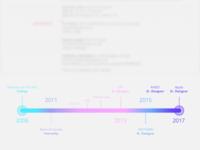 Portfolio Timeline