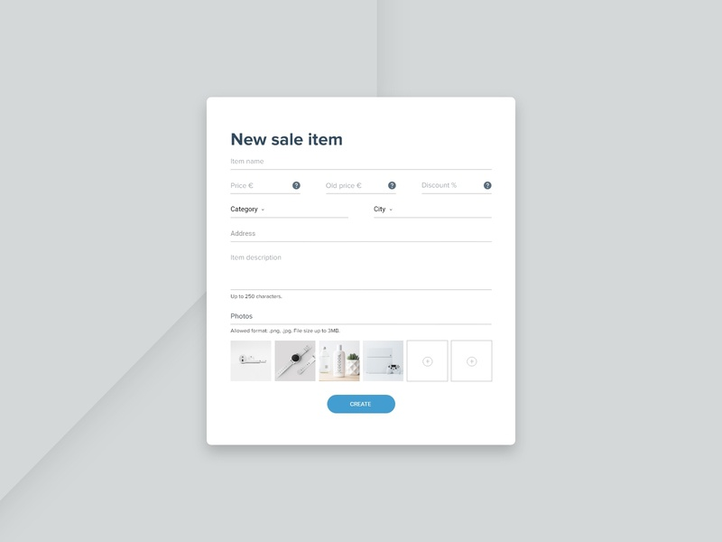 Form upload field input unsplash xd web ux ui minimalist clean design dailyui daily ui concept button adobe xd 082