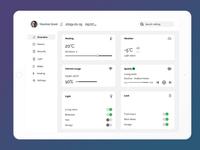 Home Monitoring Dashboard