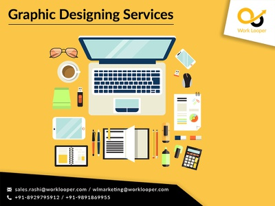 Creative Graphic Designing Services worklooper design branding logo services graphic designing high quality affordable professional graphic design company