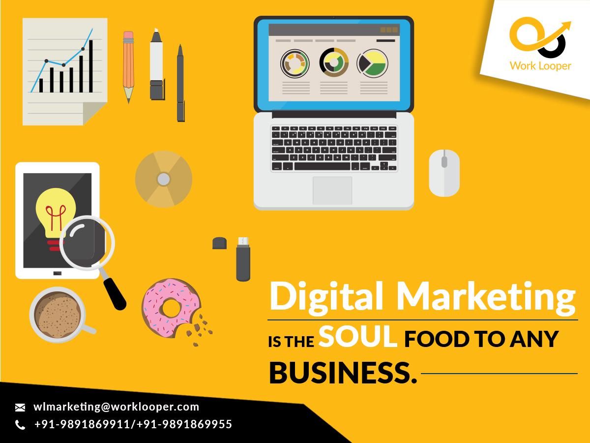 Digital Marketing Agency by WorkLooper on Dribbble