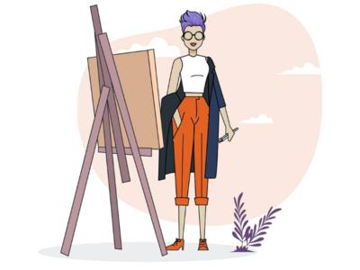 Illustrator girl