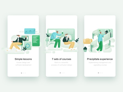Boot page ui  ux design ui illustration design