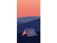 My 2nd Shot - Mobile Minimalistic Wallpaper