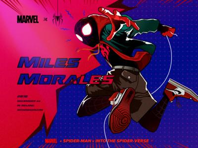 Miles Morales/蜘蛛侠 平行宇宙