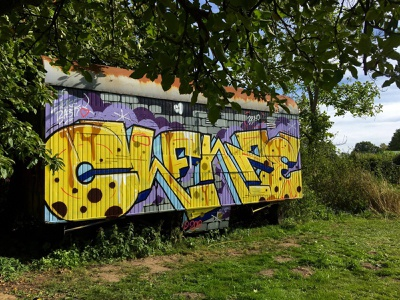 Clenze design typography graffiti