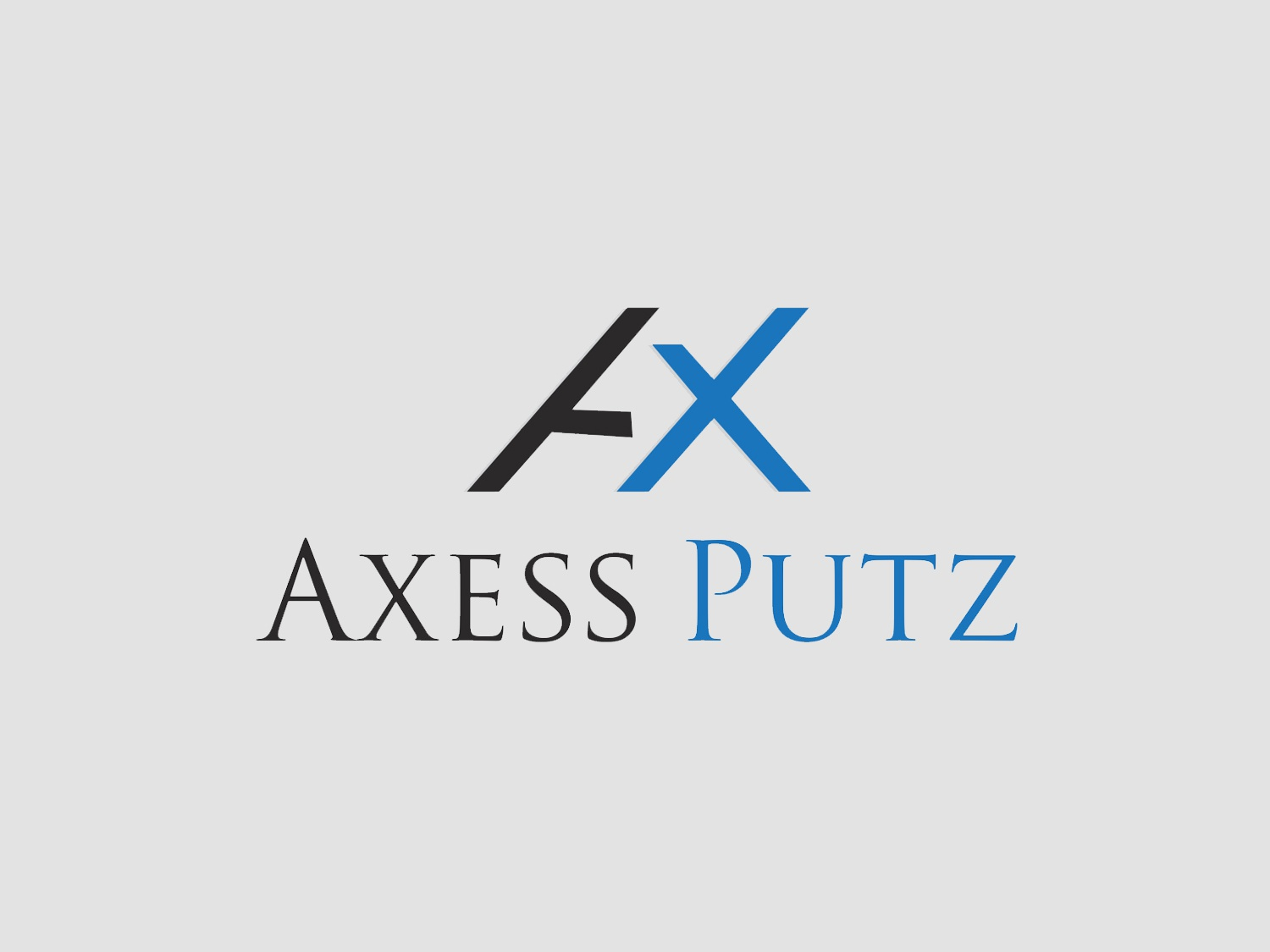 Axess Putz Logo Design typography branding animation vector logo design illustration brand and identity