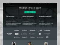 Revamped Landing Pages