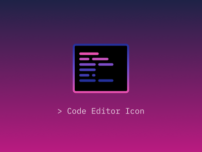 Code Editor Icon atom sublime text vscode mac icon editor code