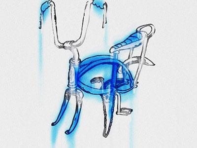 unstung bike stingray schwin 60s 70s watercolor