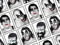 Kiss WWF spoof