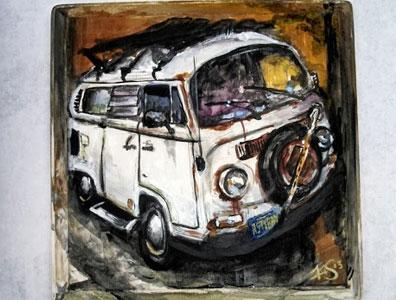 Rustybus vwbus volkswagen transporter kamper rust van bus