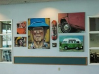 VW Bus paintings