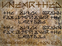 Unearthed Font