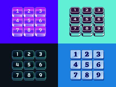 Figma Keypads (Stroked) ui design vector ui keypads buttons figmadesign figma illustration