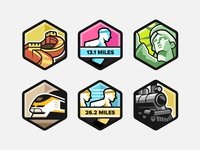 Unique Badges - 3
