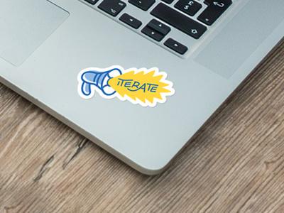 Designathon Sticker workshop sticker design iterate illustration designathon sticker set