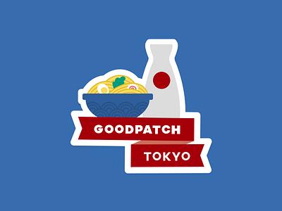 Goodpatch Tokyo Sticker japanese food ramen illstration goodpatch tokyo sticker