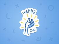 Sticker for Designathon: Hands-on!