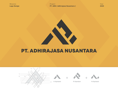 Logo PT ARN ( Adhirajasa Nusantara ) icon logotype logo logos designs design