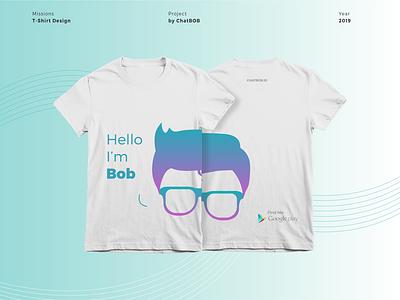 Chatbob t-shirt t-shirt mockup design
