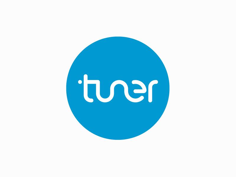 Tuner Logo by Tuner Media on Dribbble