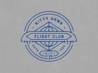 Kitty Hawk Flight Club Badge