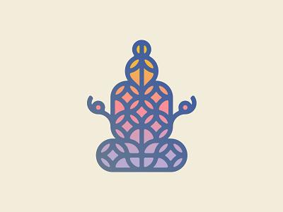 Sacred Geometry design buddha zen illustration vector shapes meditation geometry