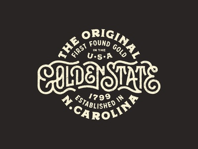The Original Golden State first 1799 usa carolina nc gold original golden state north carolina shirt apparel golden