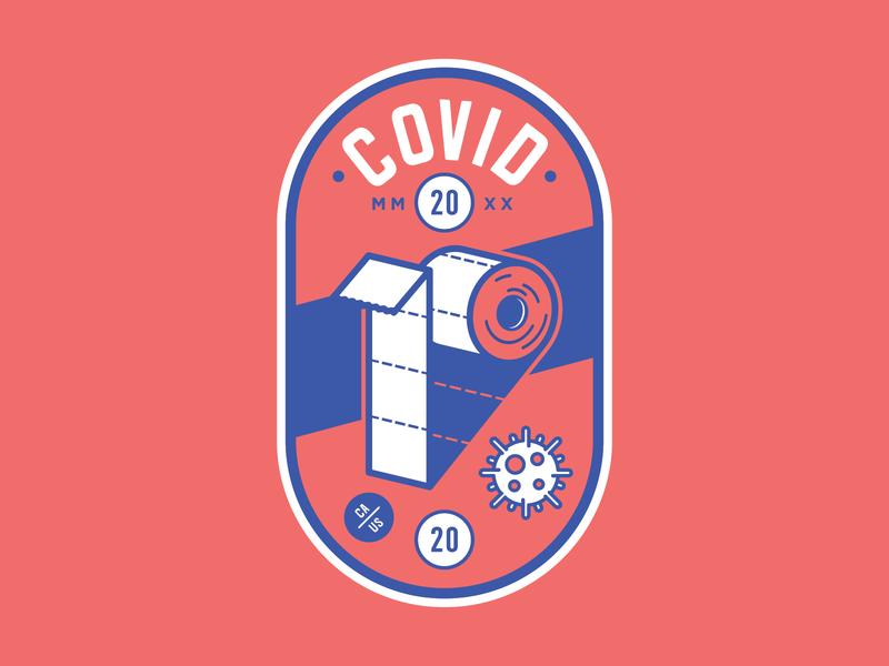Covid-19 Badge Concept