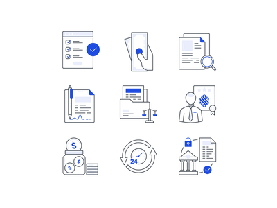 Icons ux startup service results lineart illustrations icons iconography funnel data chat branding brand identity brand app