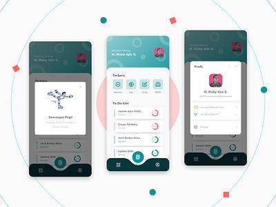 #Exploration   Hana App clean mobile app vector flat minimal ux ui design