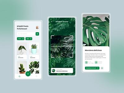 #Exploration   Gardening App nature app minimal ux ui design