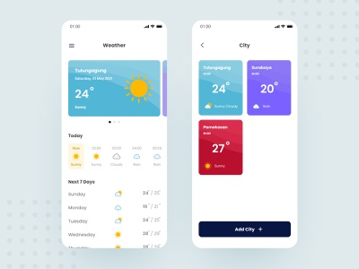 Weather App weather forecast weather app weather mobile app app minimal ux ui design